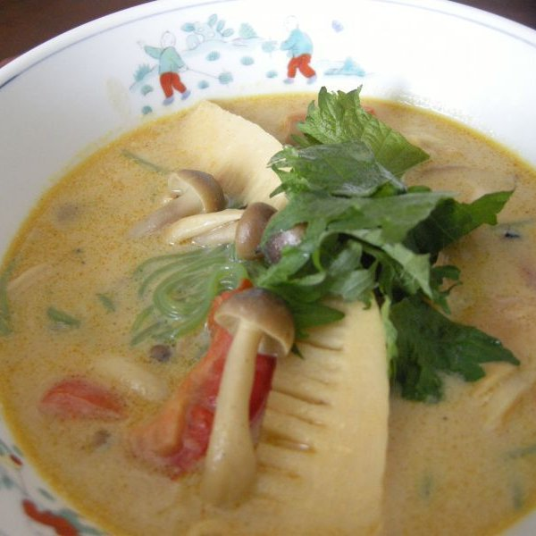 画像3: 生ほうれん草入り こんにゃく翡翠(ひすい)麺 (3)
